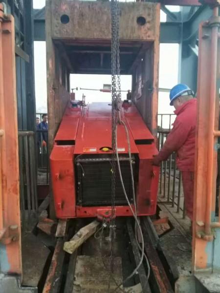 1立方铲运机下井服务案例